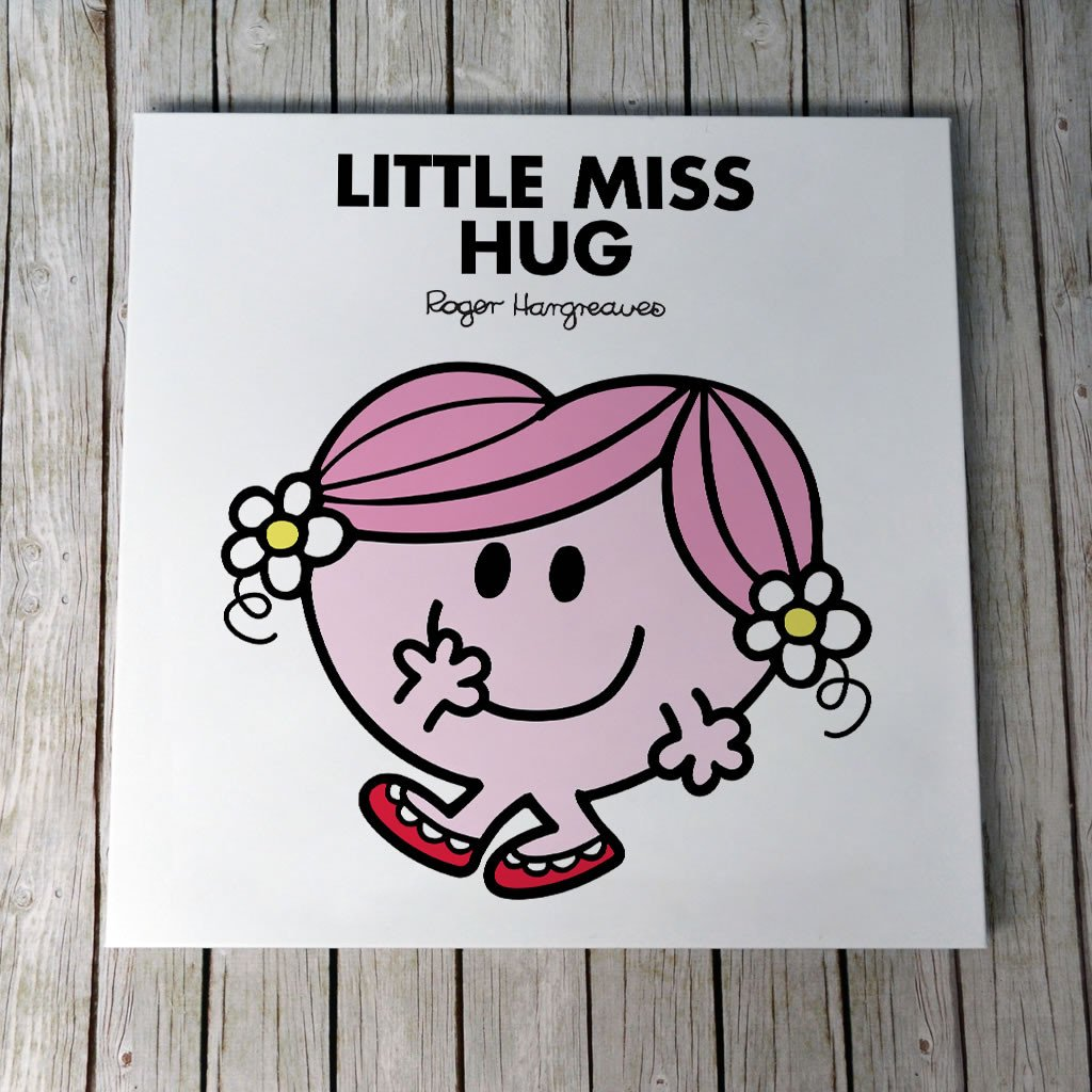 Little Miss Hug Canvas (Lifestyle)
