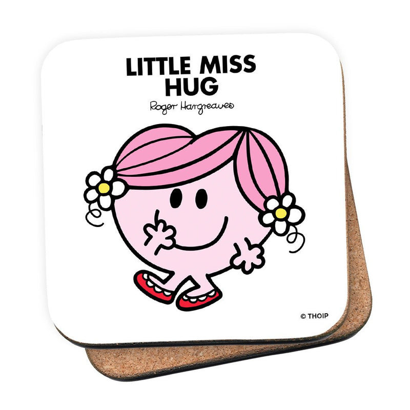 Little Miss Hug Cork Coaster