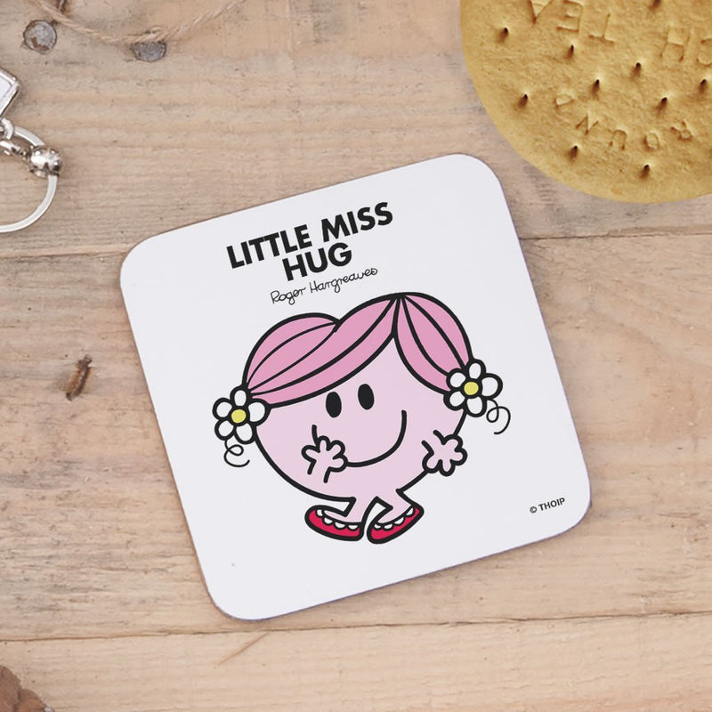 Little Miss Hug Cork Coaster (Lifestyle)