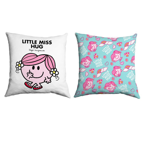 Little Miss Hug Micro Fibre Cushion
