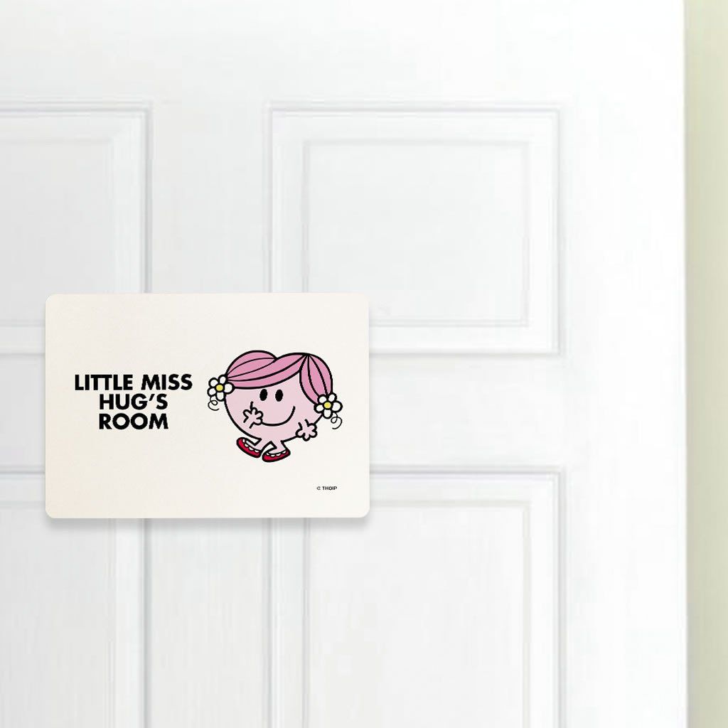 Little Miss Hug Door Plaque (Lifestyle)