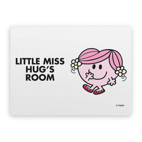 Little Miss Hug Door Plaque
