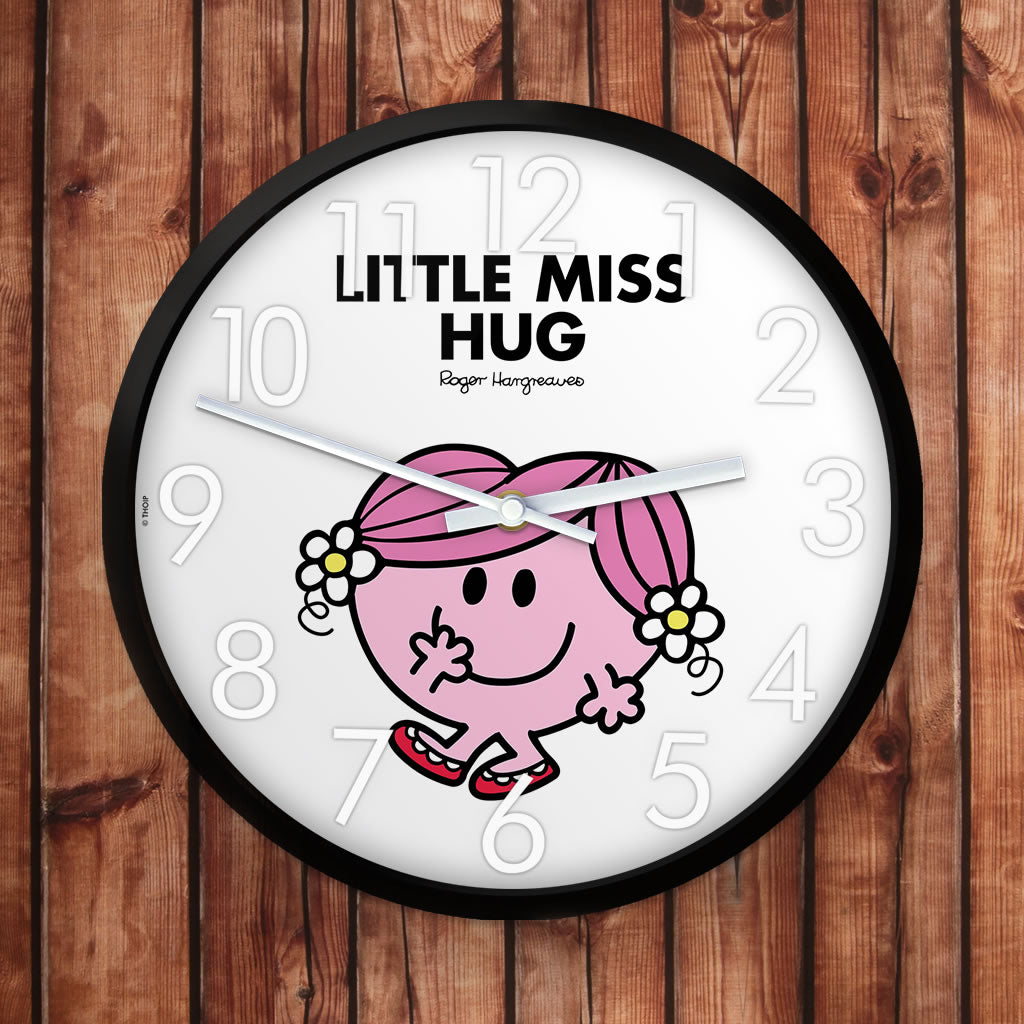 Little Miss Hug Personalised Clock (Lifestyle)