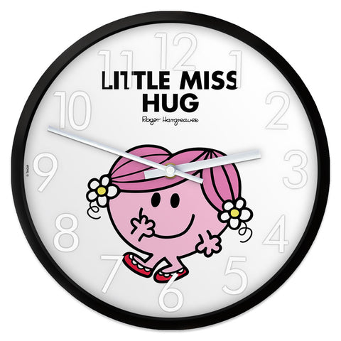 Little Miss Hug Personalised Clock