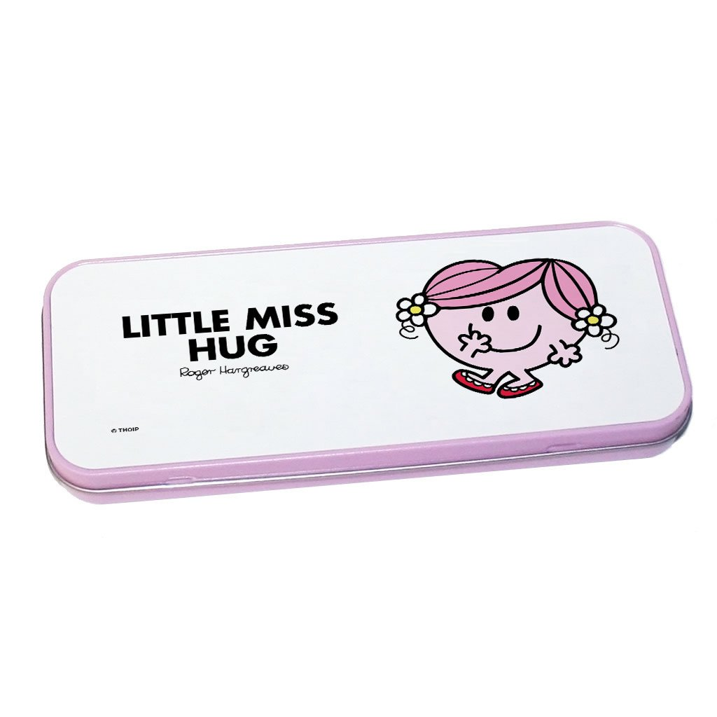 Little Miss Hug Pencil Case Tin (Pink)