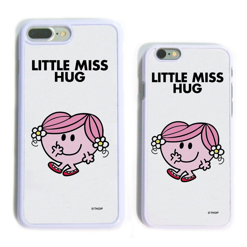Little Miss Hug White Phone Case