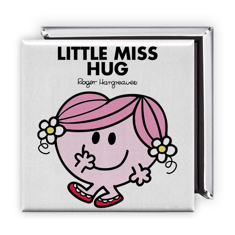 Little Miss Hug Square Magnet