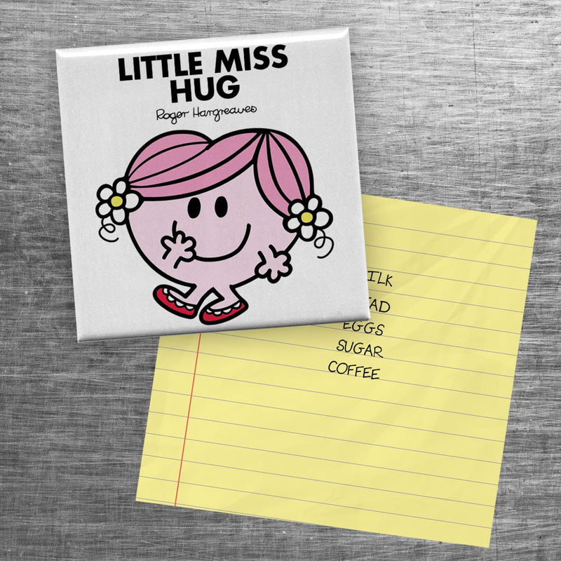 Little Miss Hug Square Magnet (Lifestyle)