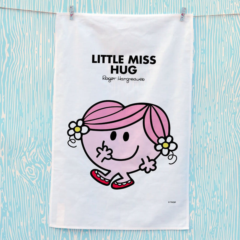 Little Miss Hug Tea Towel (Lifestyle)