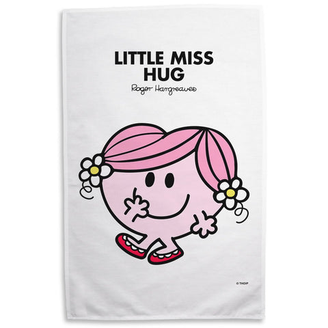 Little Miss Hug Tea Towel