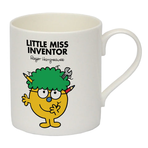 Little Miss Inventor Big Bone China Mug