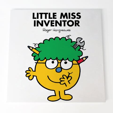 Little Miss Inventor Canvas