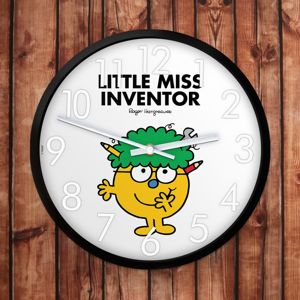 Little Miss Inventor Personalised Clock (Lifestyle)