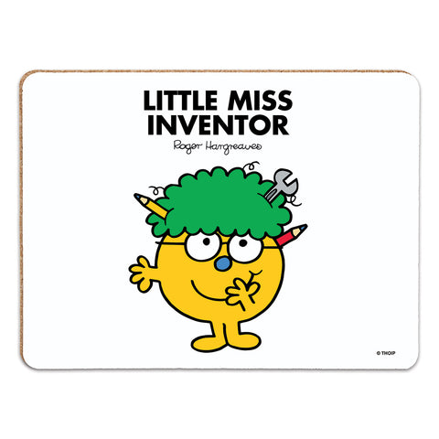 Little Miss Inventor Cork Placemat