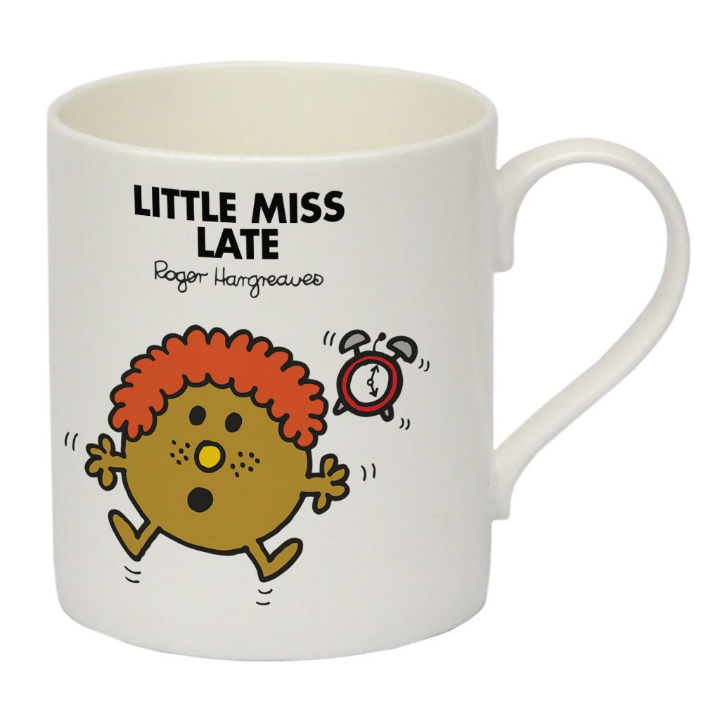 Little Miss Late Bone China Mug