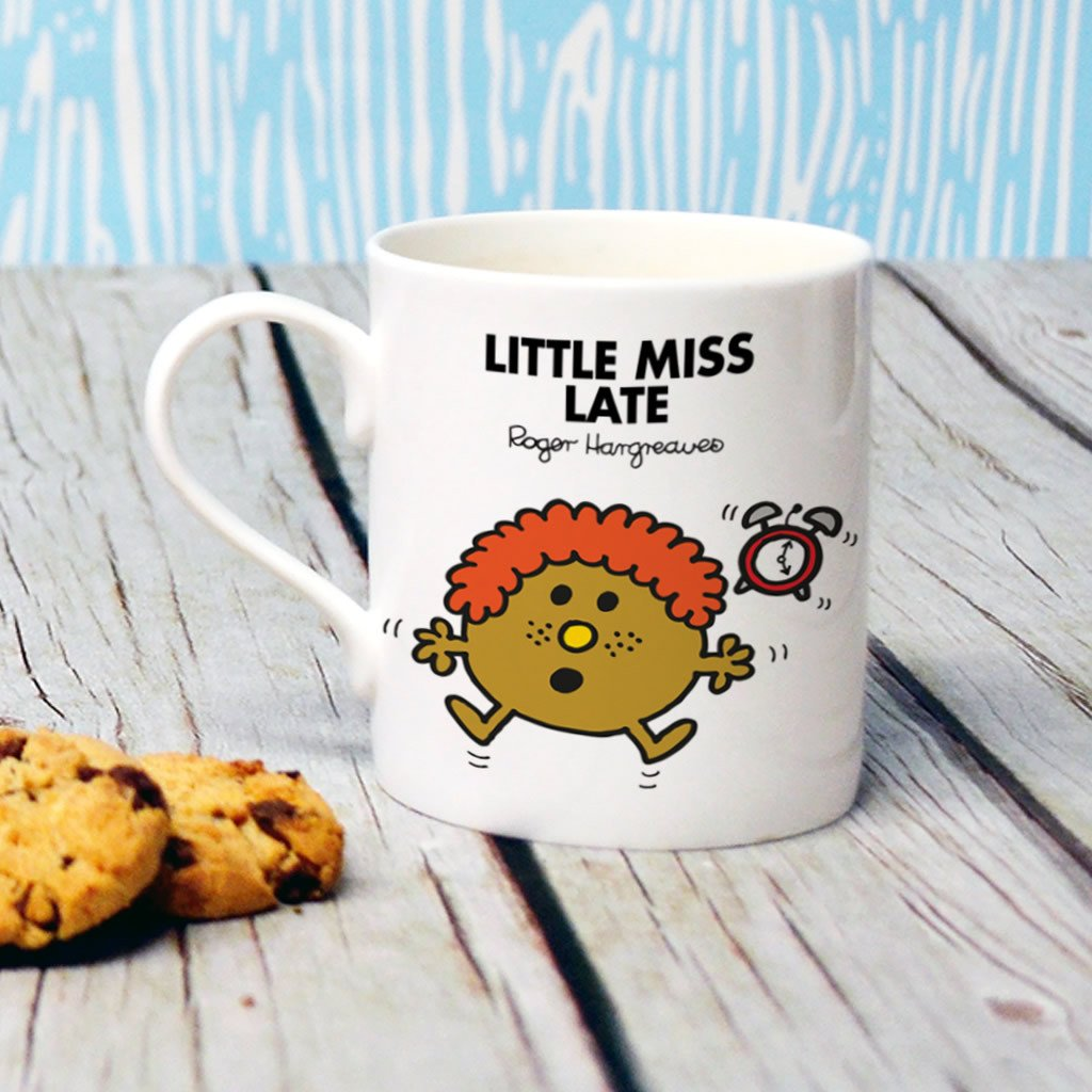 Little Miss Late Bone China Mug (Lifestyle)