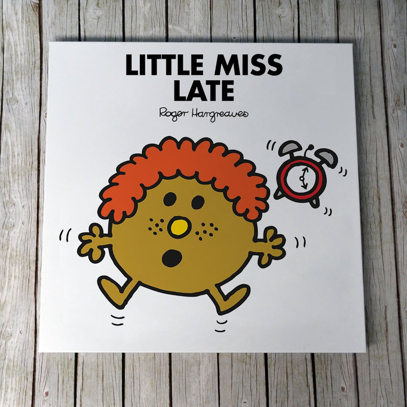 Little Miss Late Canvas (Lifestyle)