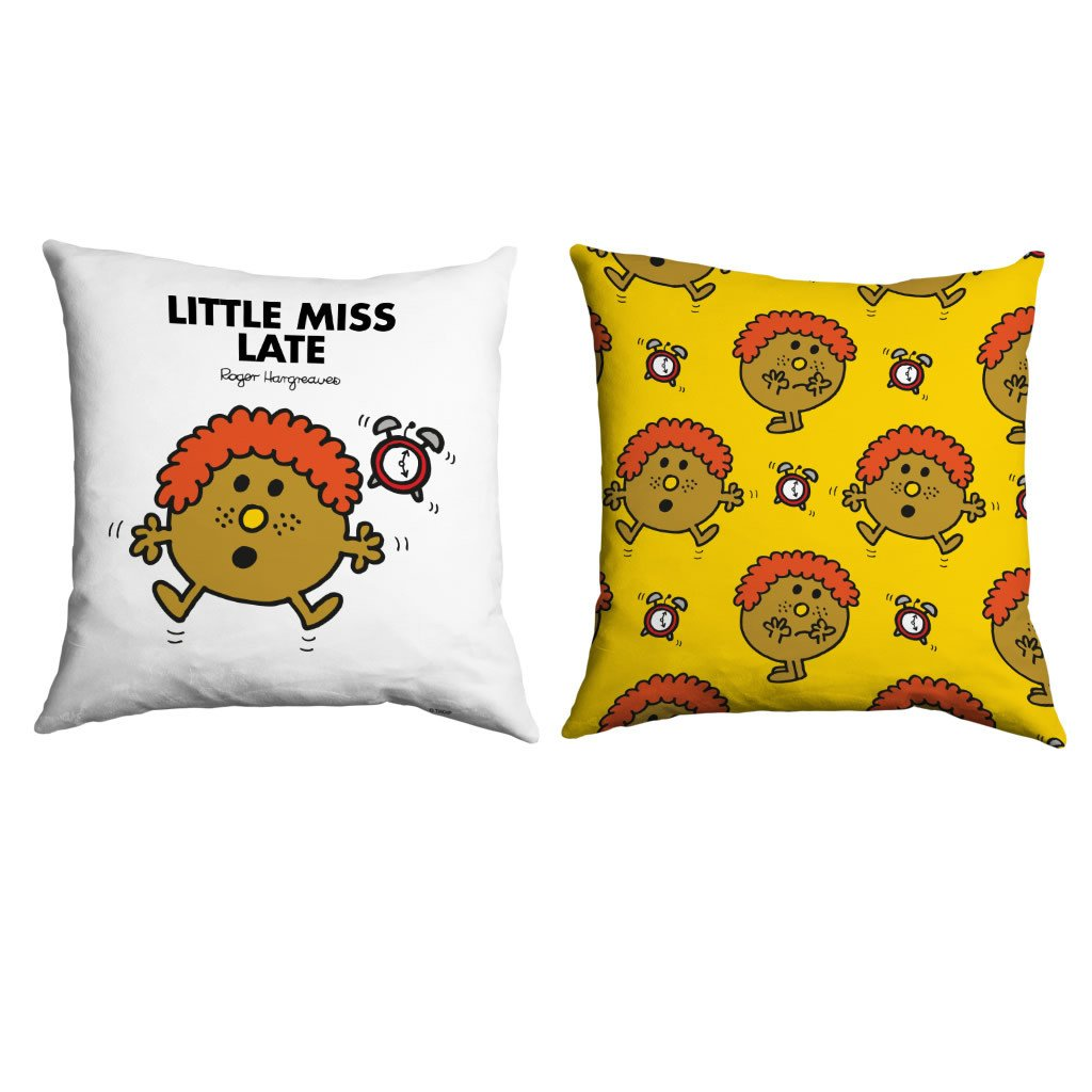 Little Miss Late Micro Fibre Cushion