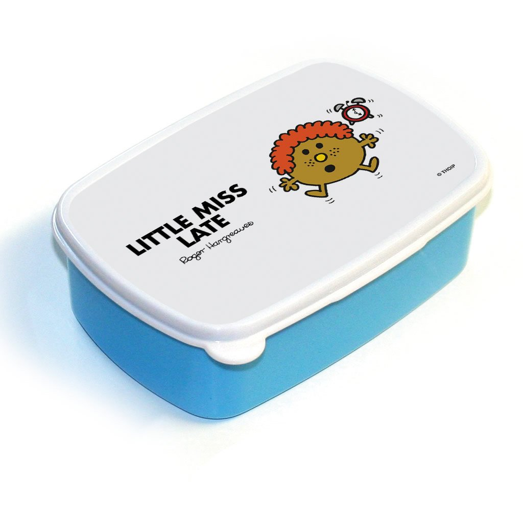 Little Miss Late Lunchbox (Blue)