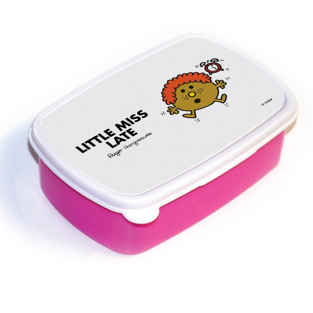 Little Miss Late Lunchbox (Pink)