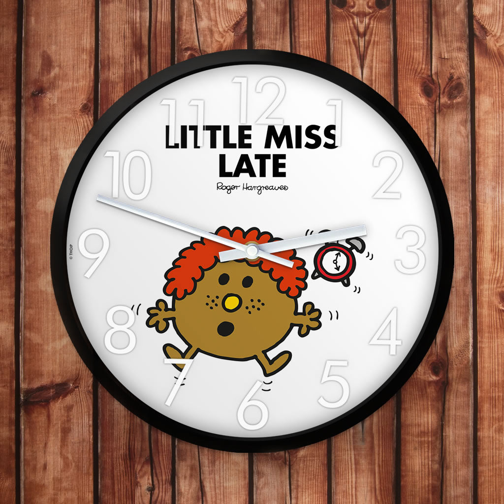 Little Miss Late Personalised Clock (Lifestyle)