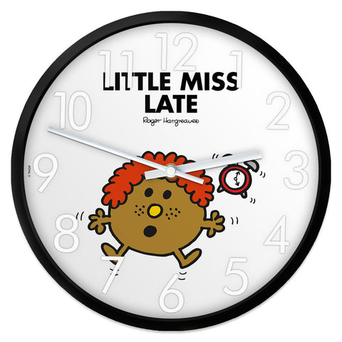 Little Miss Late Personalised Clock