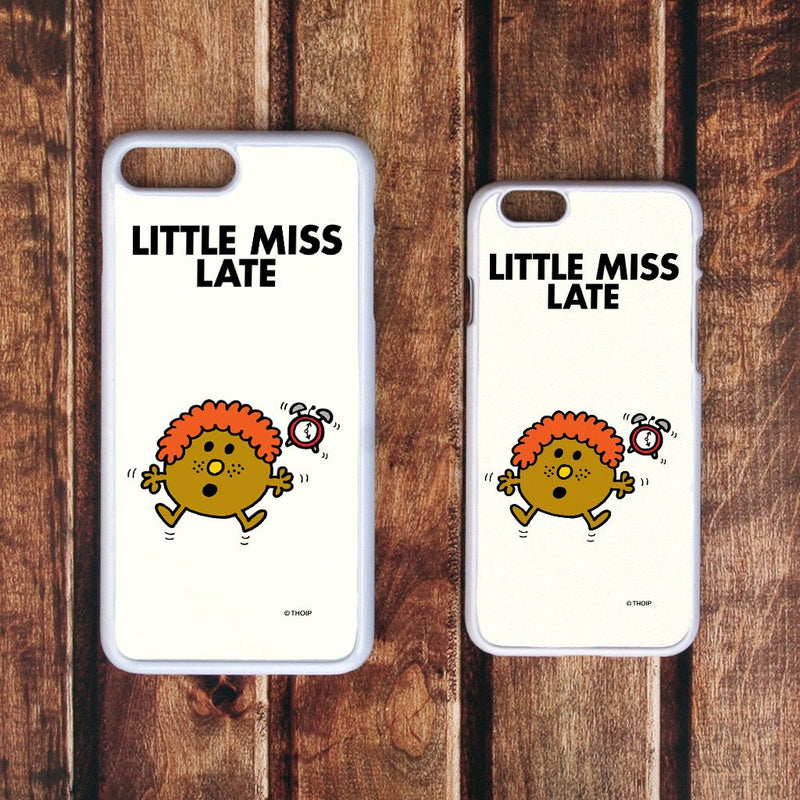 Little Miss Late White Phone Case (Lifestyle)