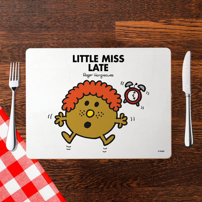 Little Miss Late Cork Placemat (Lifestyle)