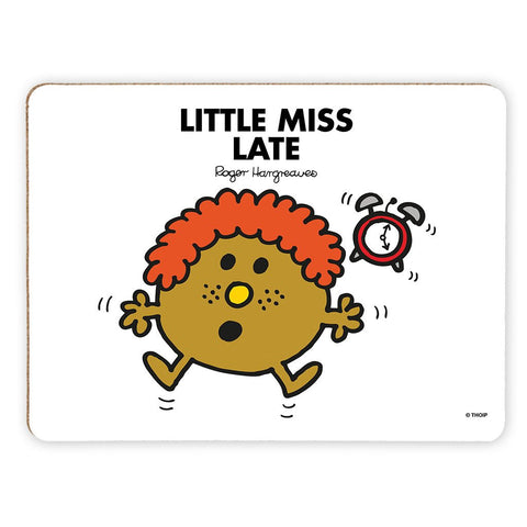 Little Miss Late Cork Placemat