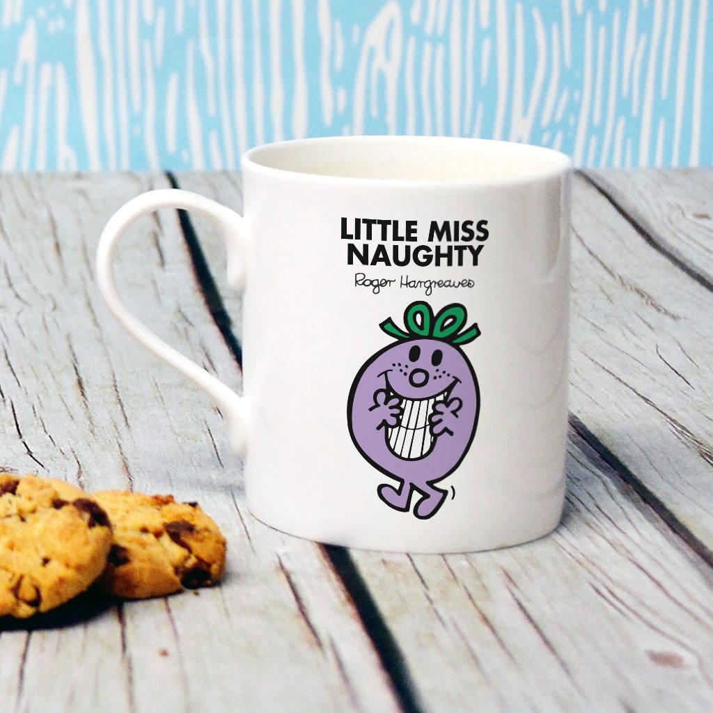 Little Miss Naughty Bone China Mug (Lifestyle)