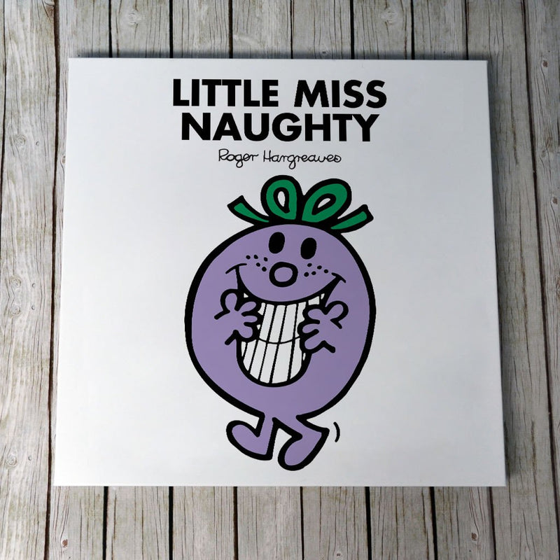 Little Miss Naughty Canvas (Lifestyle)