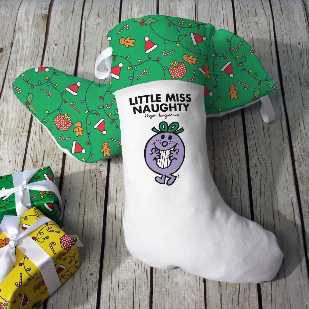 Little Miss Naughty Christmas Stocking (Lifestyle)