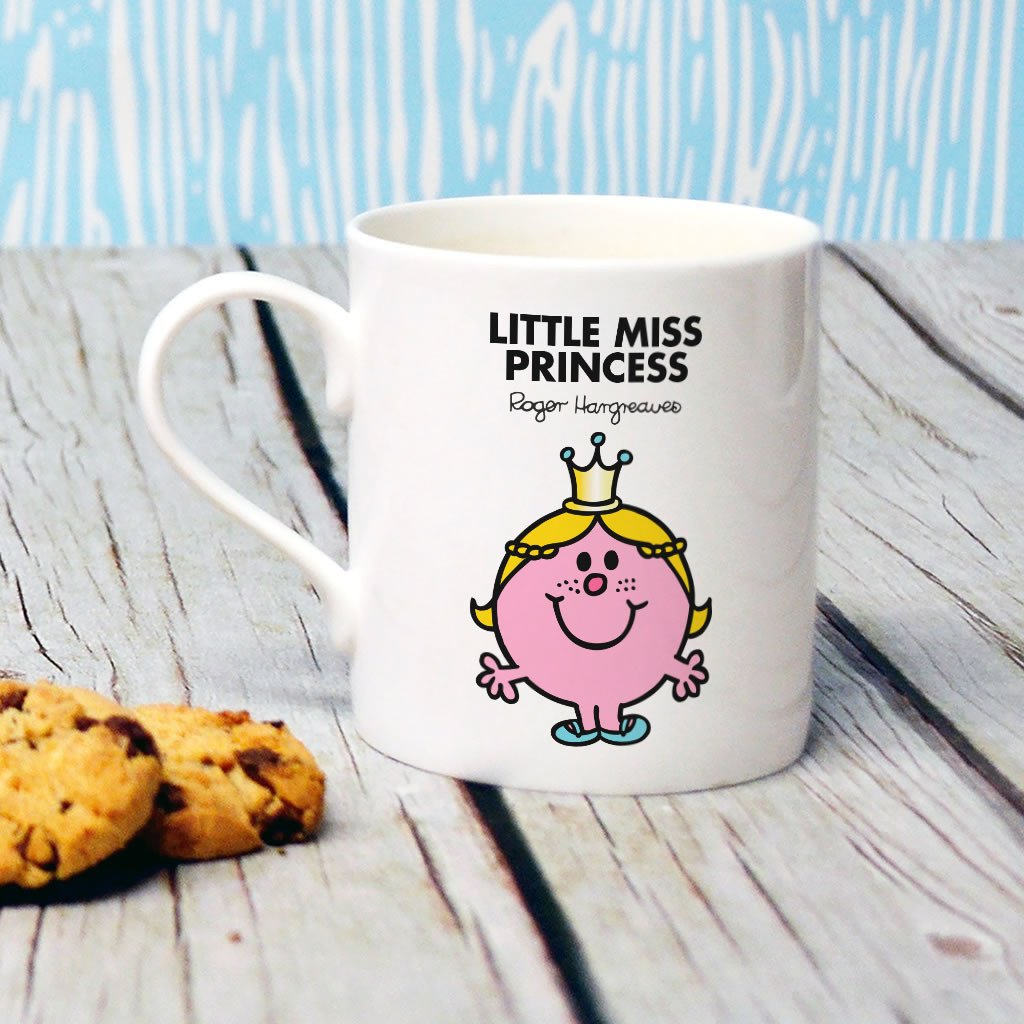 Little Miss Princess Bone China Mug (Lifestyle)