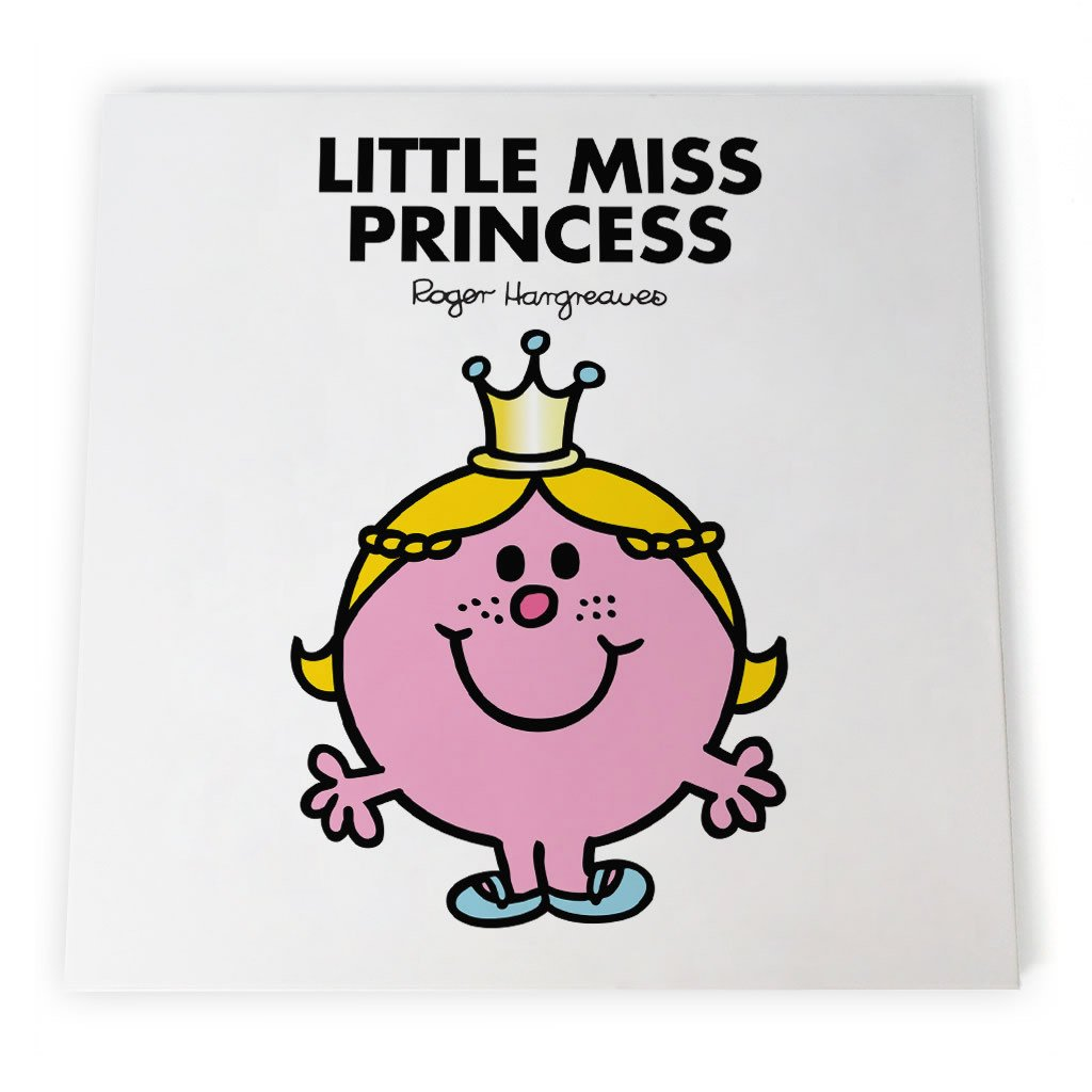 Little Miss Princess Canvas