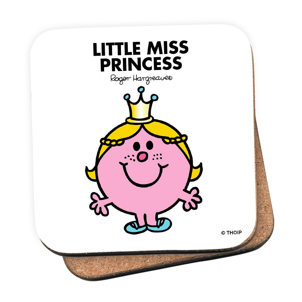 Little Miss Princess Cork Coaster