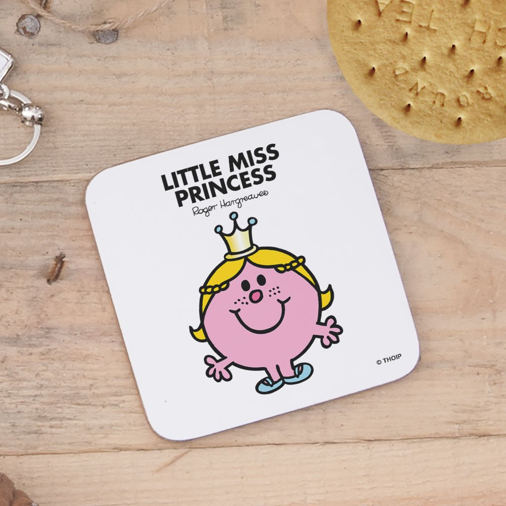 Little Miss Princess Cork Coaster (Lifestyle)