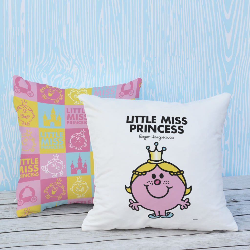 Little Miss Princess Micro Fibre Cushion (Lifestyle)