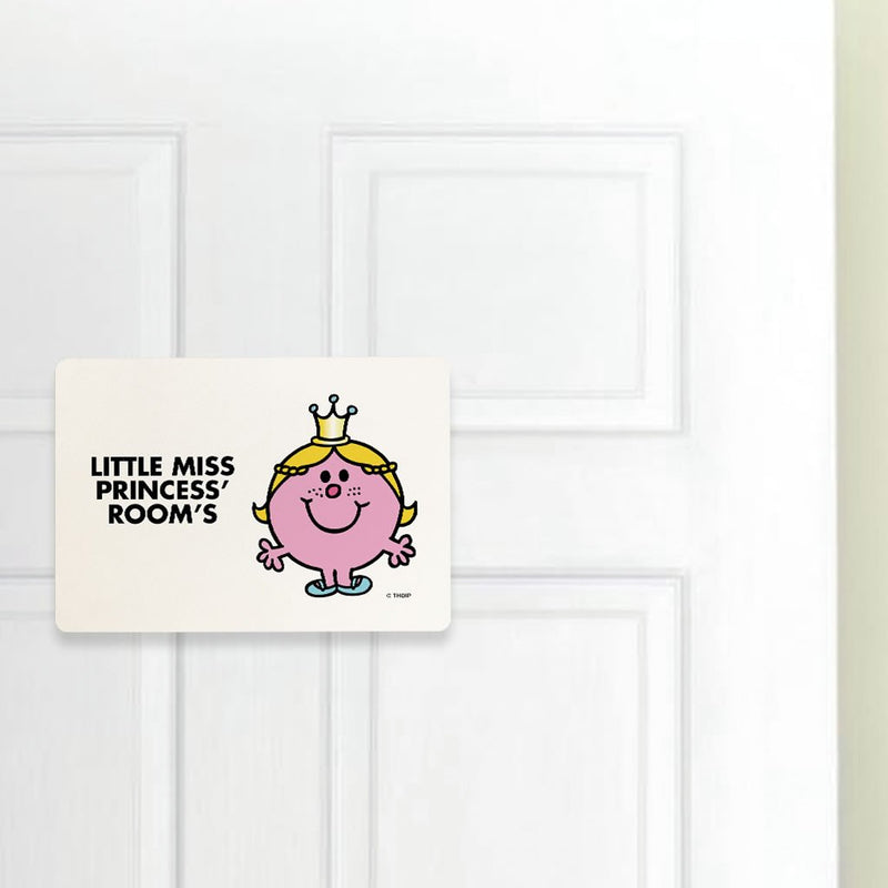 Little Miss Princess Door Plaque (Lifestyle)