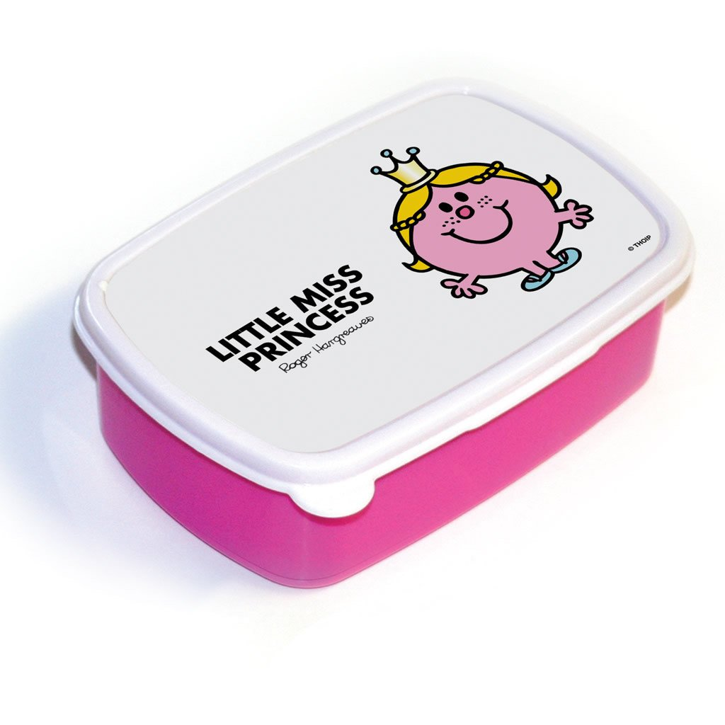 Little Miss Princess Lunchbox (Pink)