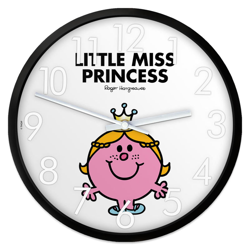 Little Miss Princess Personalised Clock