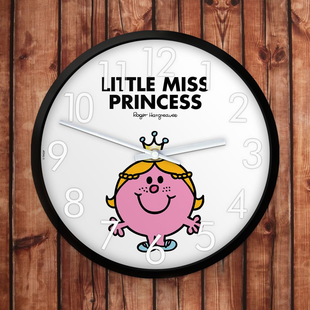 Little Miss Princess Personalised Clock (Lifestyle)