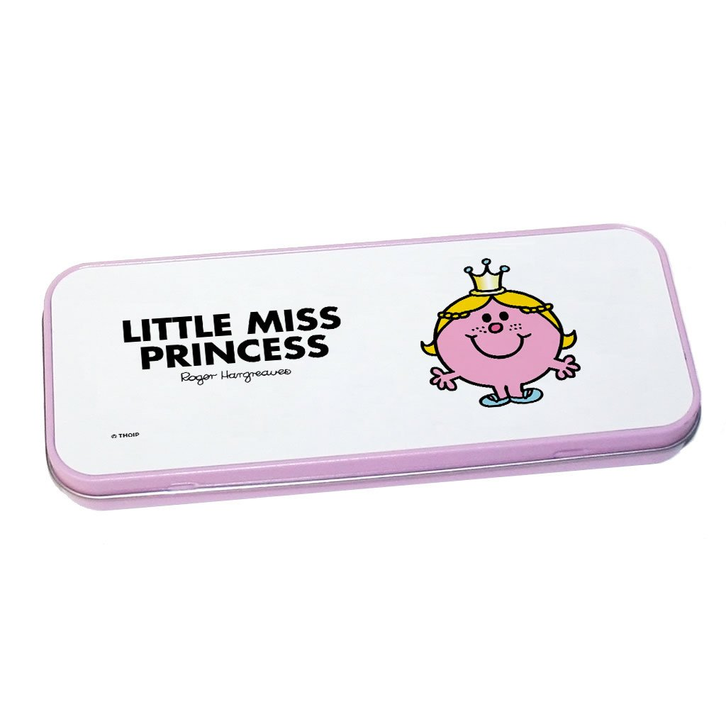 Little Miss Princess Pencil Case Tin (Pink)