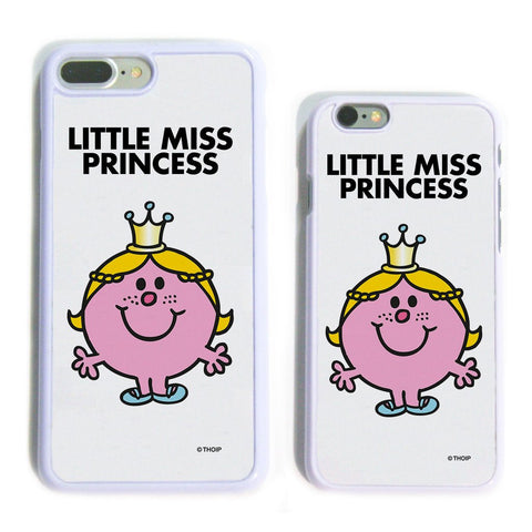 Little Miss Princess White Phone Case
