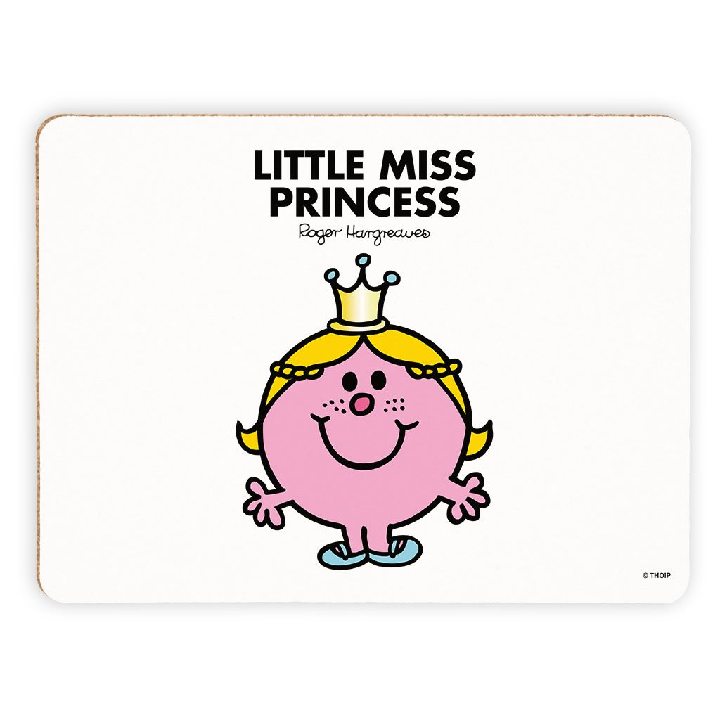 Little Miss Princess Cork Placemat