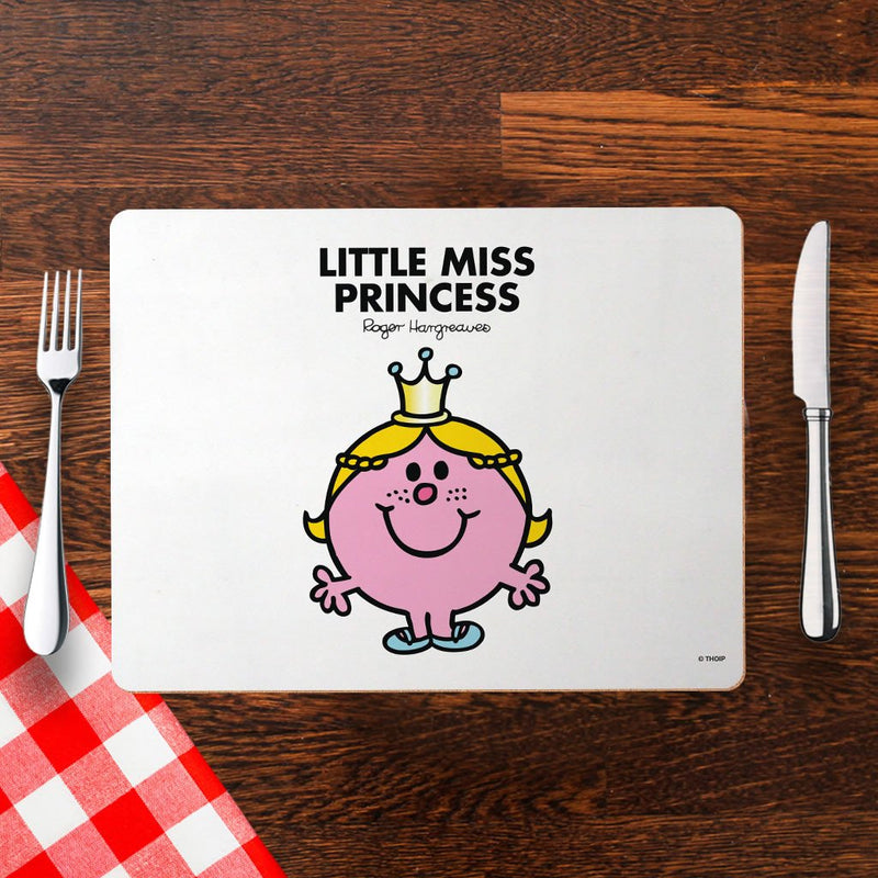 Little Miss Princess Cork Placemat (Lifestyle)