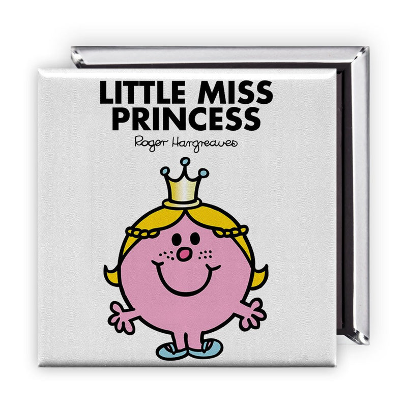 Little Miss Princess Square Magnet