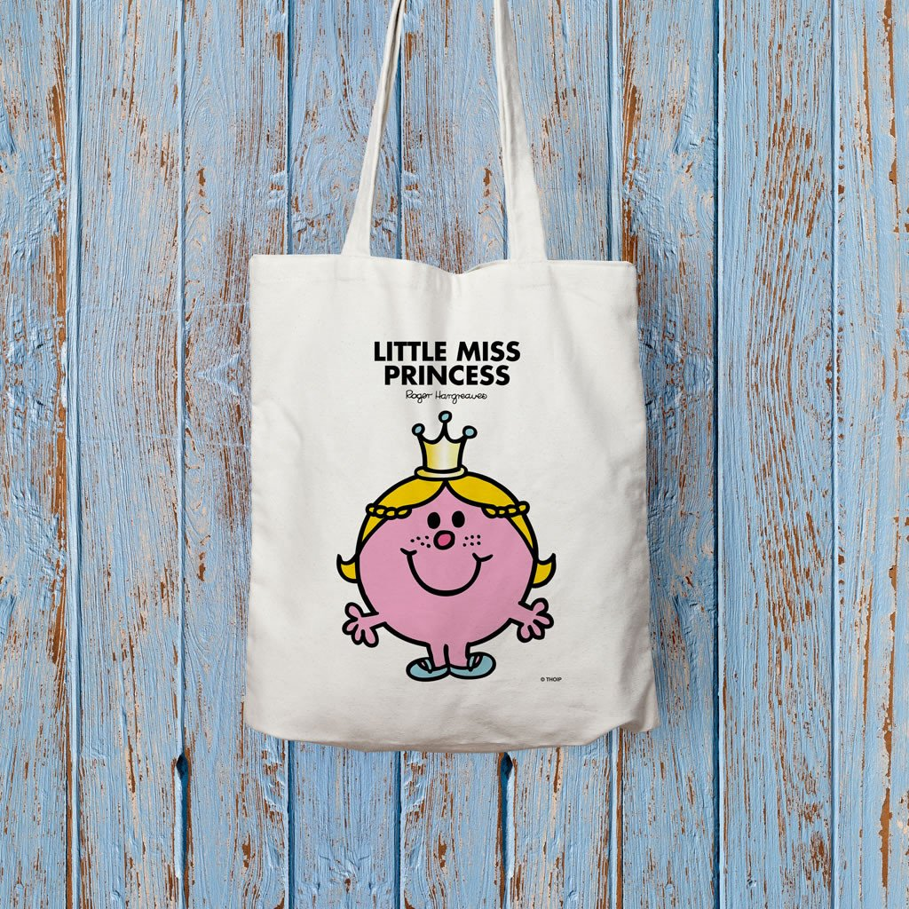 Little Miss Princess Long Handled Tote Bag (Lifestyle)