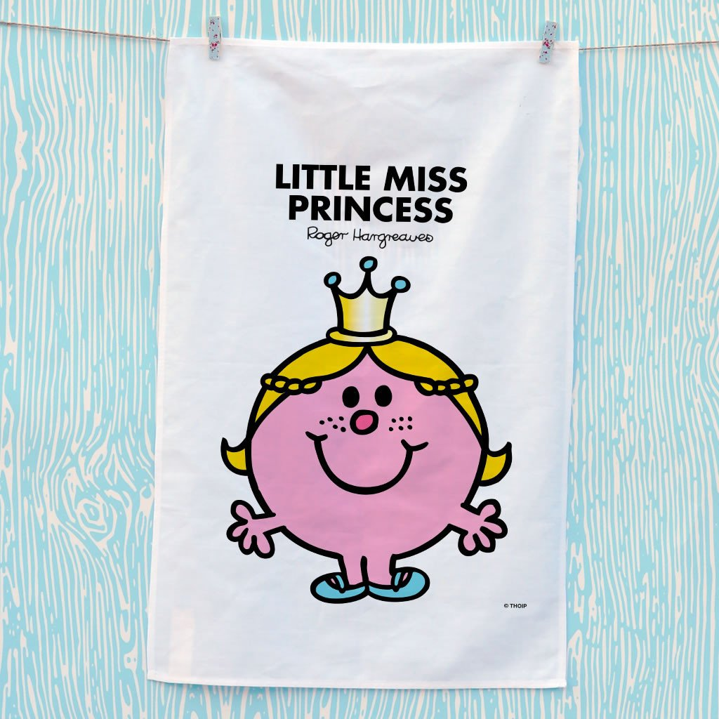 Little Miss Princess Tea Towel (Lifestyle)