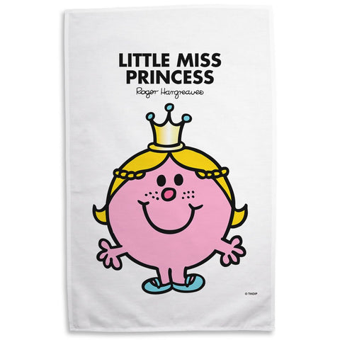 Little Miss Princess Tea Towel