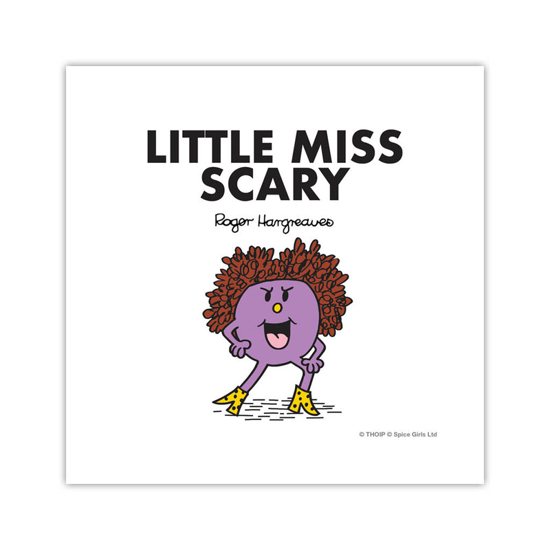 Little Miss Scary Art Print
